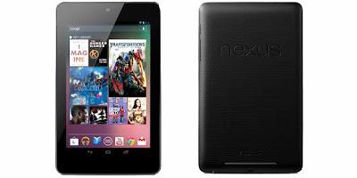 Harga dan Spesifikasi Google Nexus 7 Tablet Terbaru 2012
