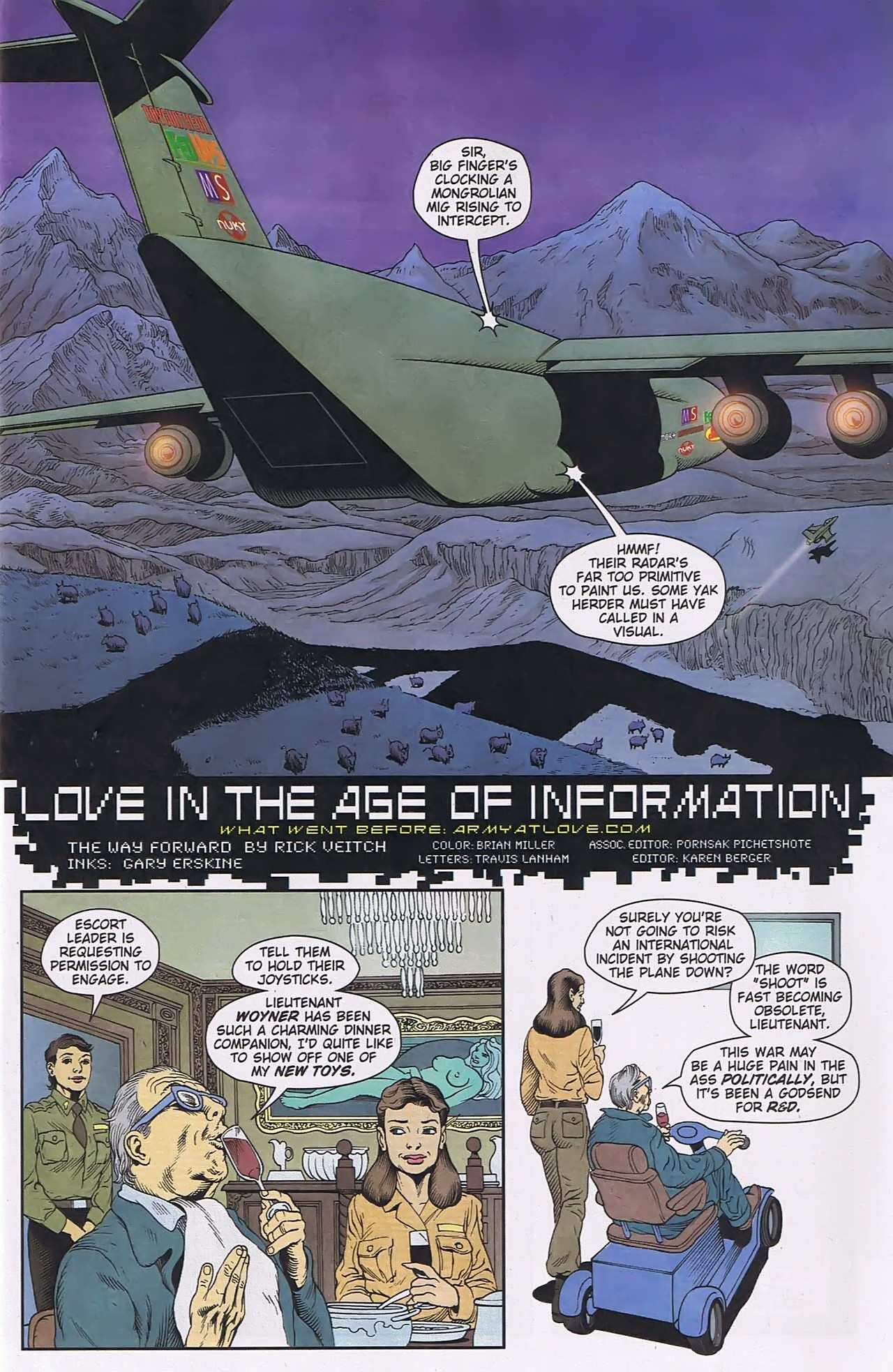 Read online Army @ Love comic -  Issue #6 - 4