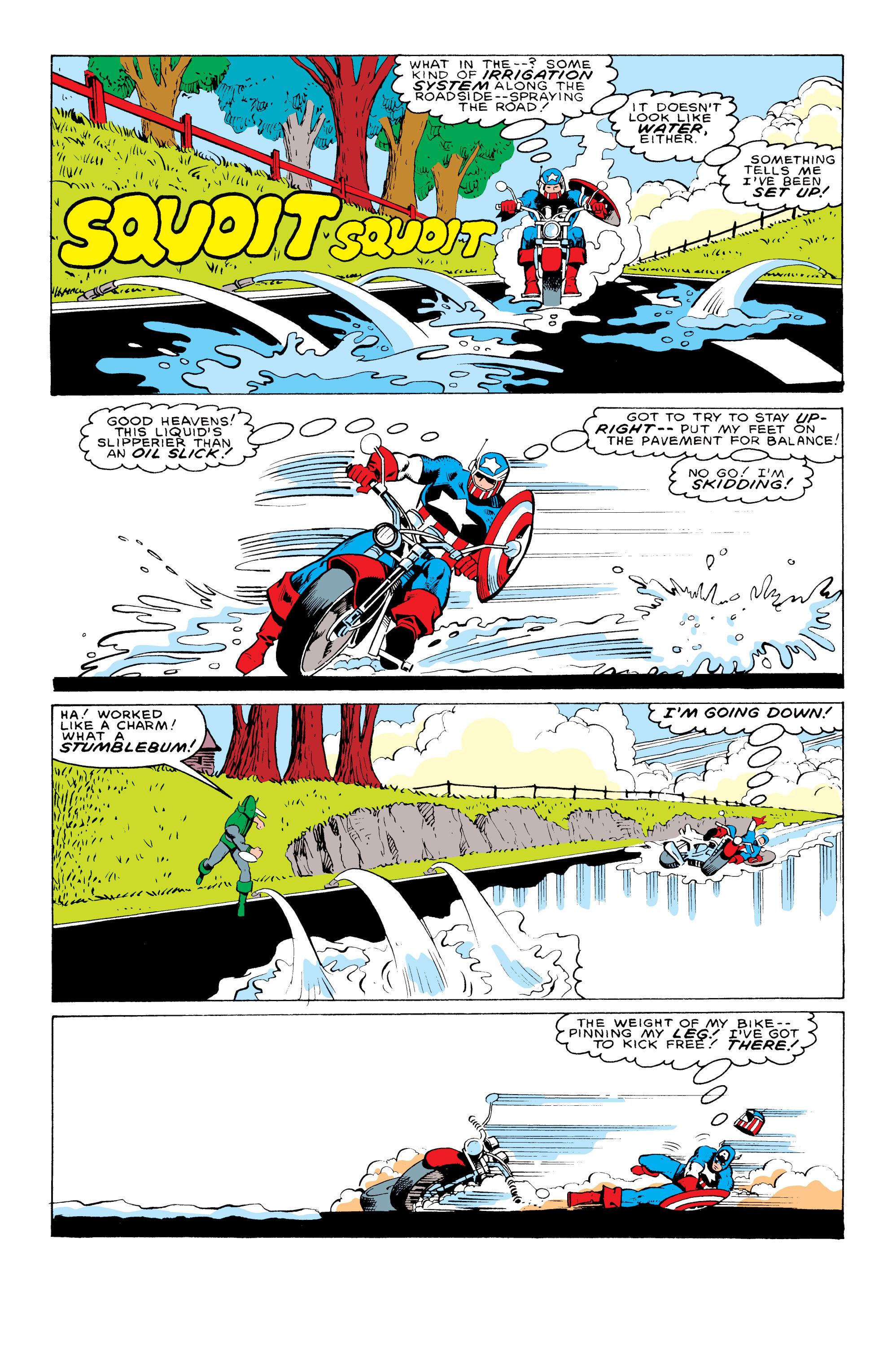 Captain America (1968) Issue #324 #253 - English 17