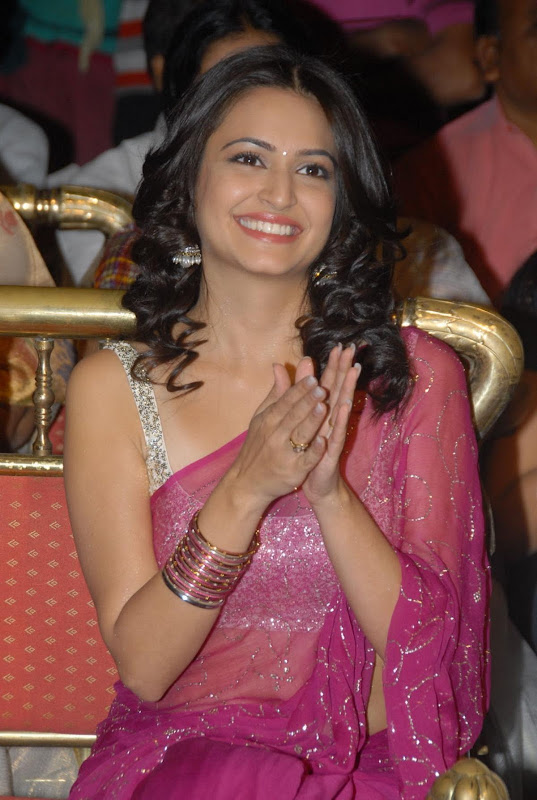 Pawan Kalyans Upcoming Actress Kriti Kharbanda In Hot Saree Stills Photos unseen pics