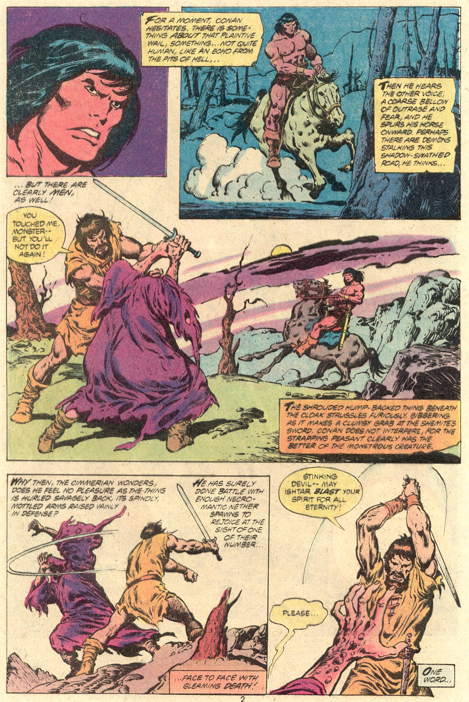 Conan the Barbarian (1970) Issue #118 #130 - English 3