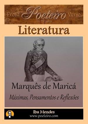 Máximas, Pensamentos e Reflexões, de Marquês de Maricá