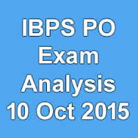 IBPS CWE 5 PO MT Exam Analysis 2015