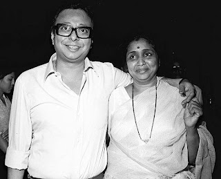 Rahul Dev Burman With Asha Bhosle