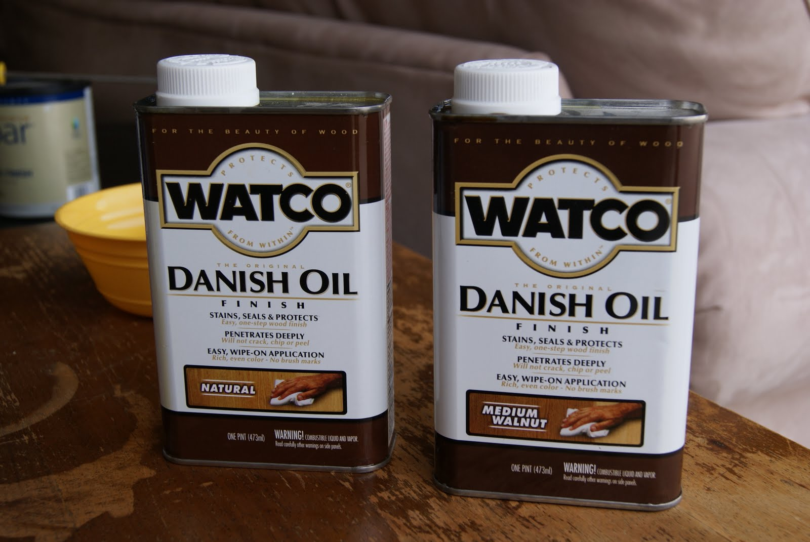 An Introduction To Danish Oil Versus Normal Stain