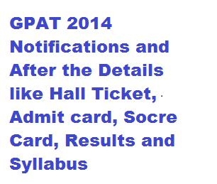 GPAT Online Registration Form 2014 aicte-gpat.in