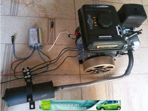 Coches electricos motor vehiculo electrico conversiones for Generador arranque automatico