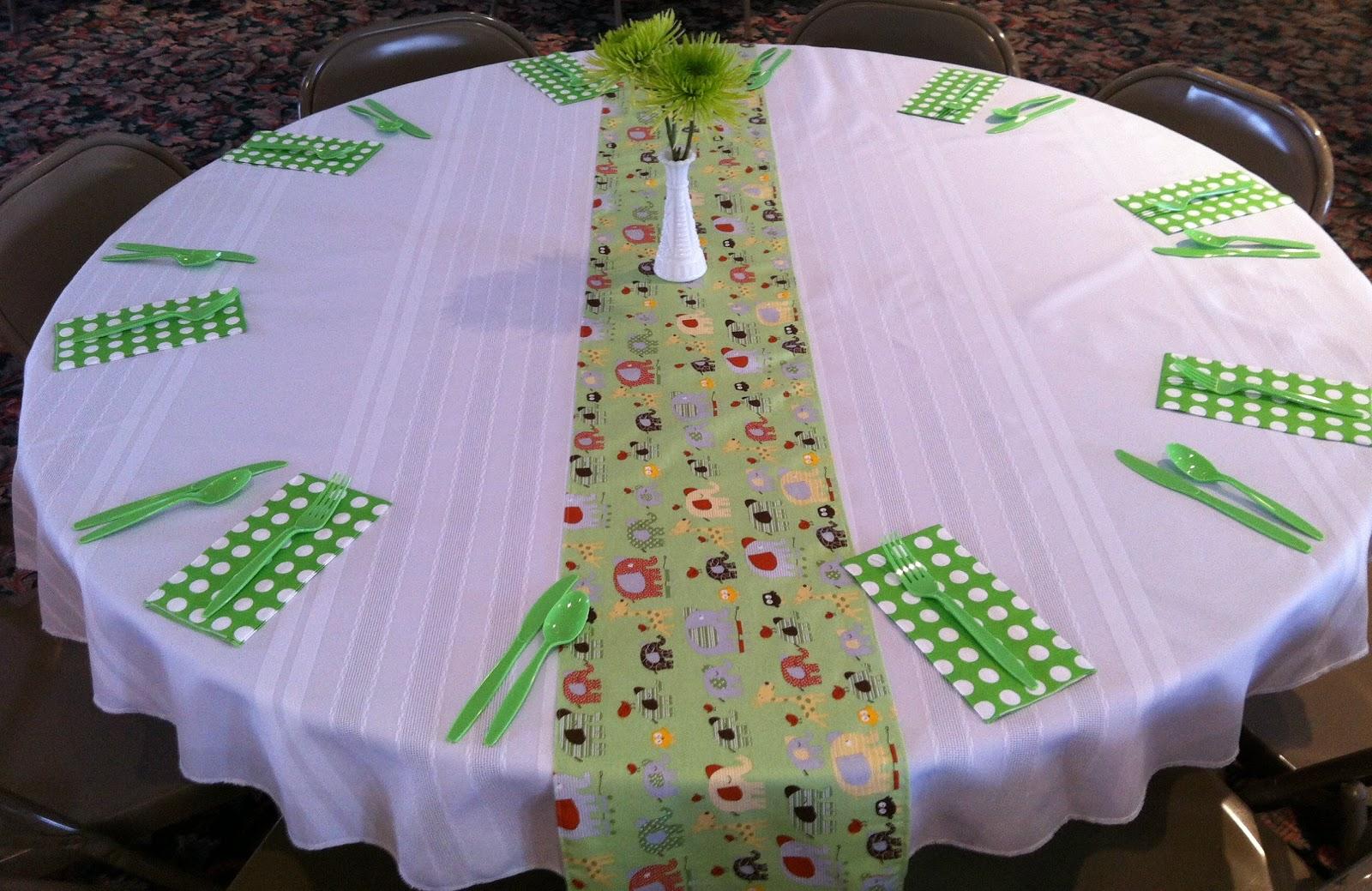 Baby Bear Necessities: Gender Neutral Baby Shower Decorations