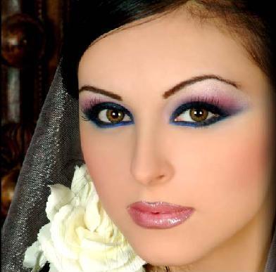 Bridal Makeup For Brunettes With Brown Eyes : Fashions Cart: Wedding Makeup for Brunettes