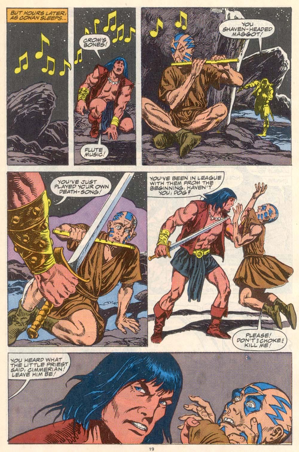 Conan the Barbarian (1970) Issue #223 #235 - English 16