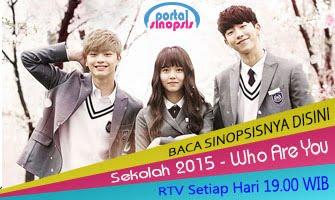 Sinopsis Drama Korea 'Sekolah 2015 - Who Are You'