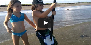 kids Surf Fishing Bull Shark