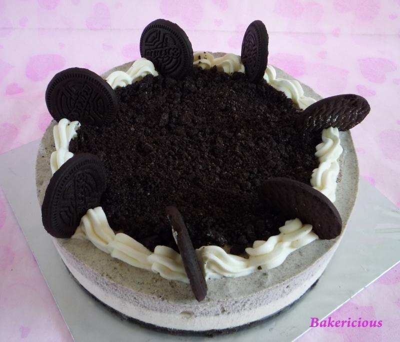 Bakericious Non Bake Oreo Cheesecake