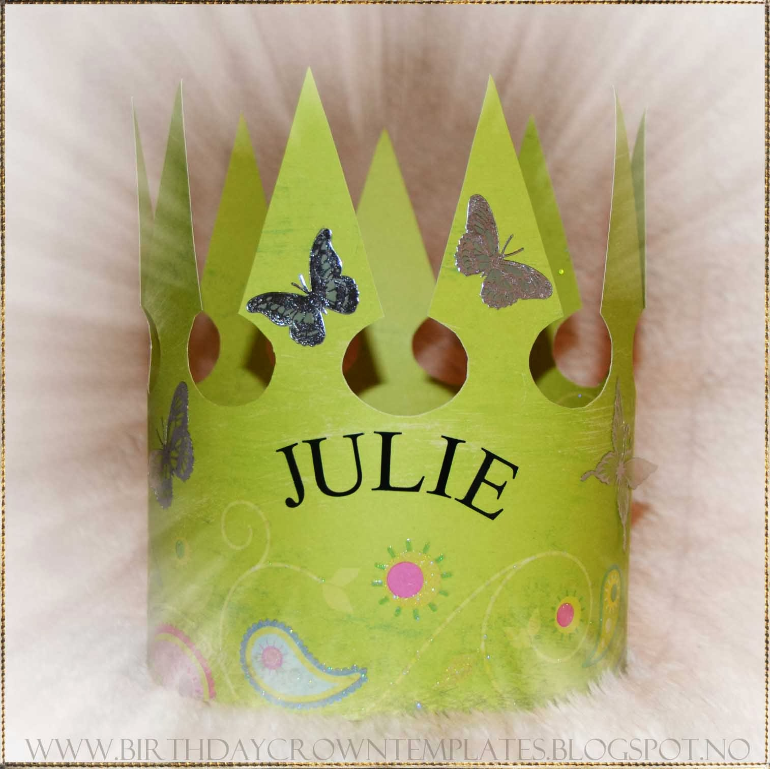 ... Birthday Crown template! | Printable birthday crown template for free