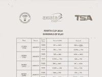 Streaming Axiata Cup 2014: Court 1 dan Court 2