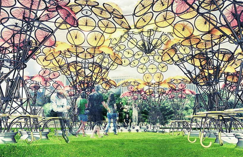 ide-inspirasi-desain-shelter-kembang-hydrangea-ruang-komunal-city of dreams-new york-001