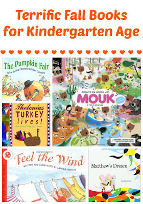 Fall book recommendations for kindergarten age