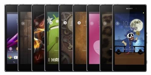 Personalizzazione dei temi android su device Sony Xperia con Xperia Themes