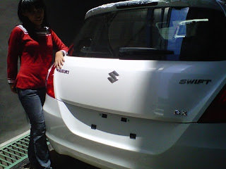 All New Swift Belakang