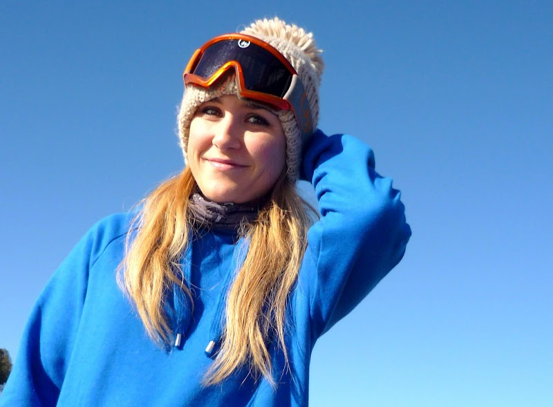 BACK FROM SKIING