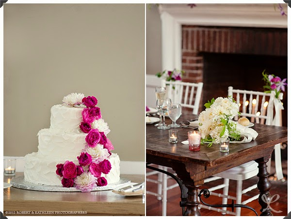 Highlands Country Club Wedding - Garrison, NY - Hudson Valley Wedding - Cake Flowers - Splendid Stems Floral Design