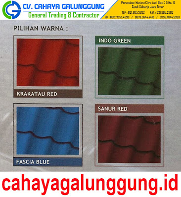WARNA GENTENG METAL PERKASA ROOF TILE