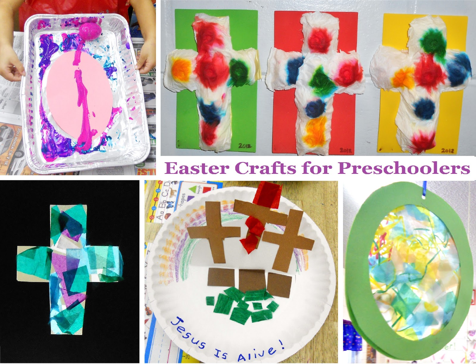 4 Easter Crafts For Preschoolers
