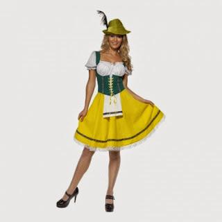 Oktoberfest klänning
