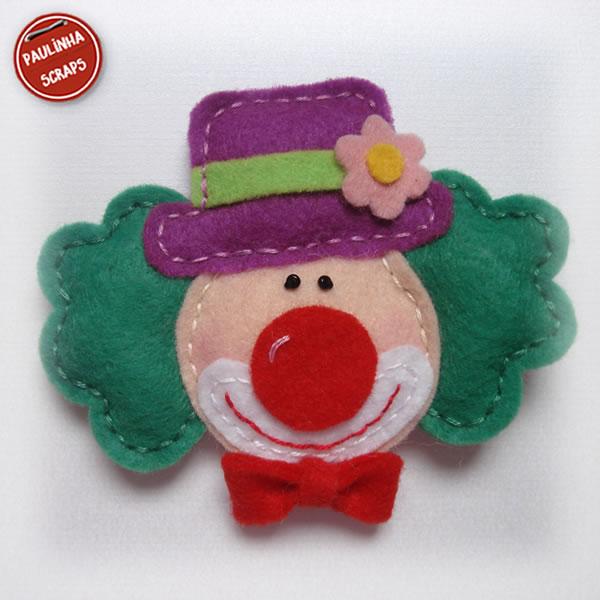Festa da Julinha - Circo - Me aventurando com Feltro Palha%25C3%25A7o+08