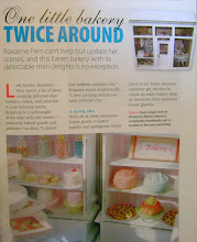 American Miniaturist Issue#96 6Page Feature of my Bakery