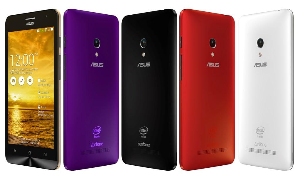 asus zenfone 5 smartphone