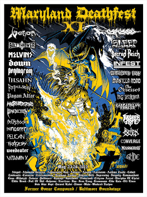 Maryland Deathfest XI Official Poster