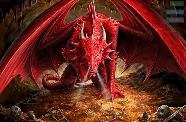 Ảnh đẹp rồng lửa 3D