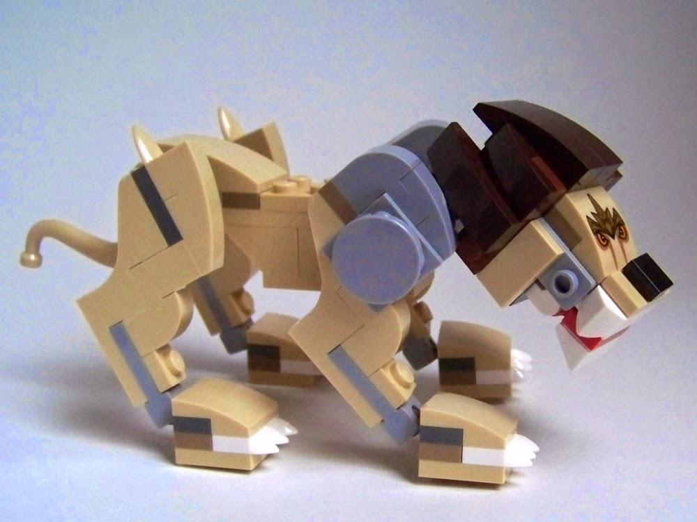 LEGO Chima Legend Beast 70123