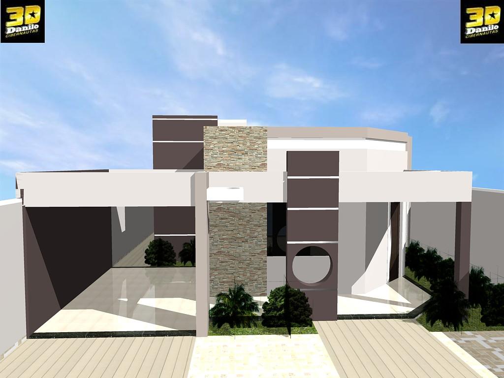 3danilo maquetes eletr nicas 3d casas modernas guanambi for Casas 3d