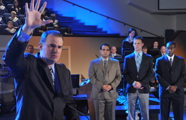 Courageous 2011 Alex Kendrick the actor and the director