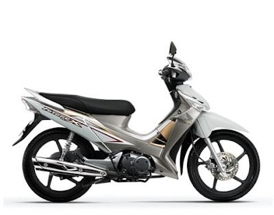 Honda Future X FI màu trắng tháng 6-2011