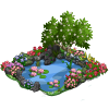 FarmVille April Flower Pond  (Day 8)