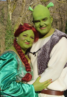 Shrek Themed Wedding