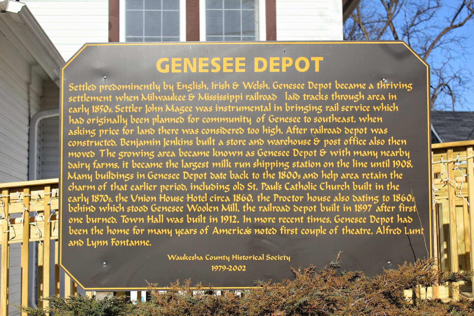 genesee depot hindu personals Genesee town board meetings meetings are held in the genesee town hall,  s43 w31391 hwy 83, genesee depot town board: regular meetings of the.