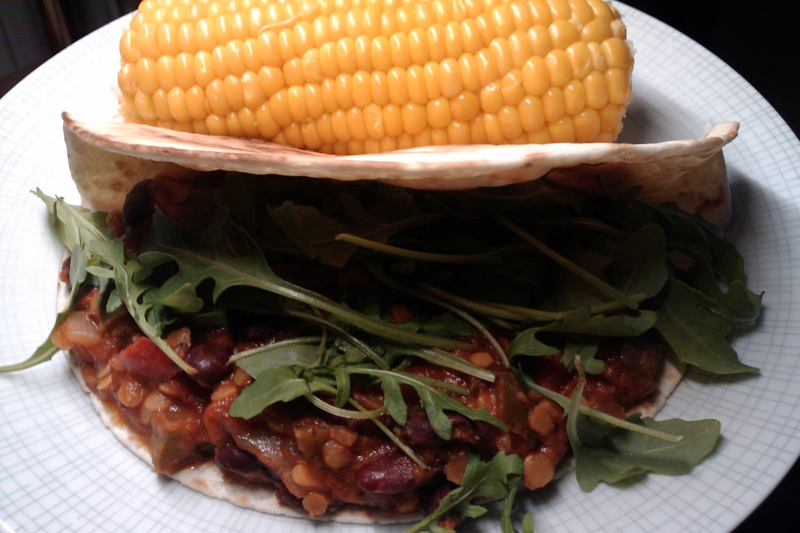 Bonen, burrito's en maïs