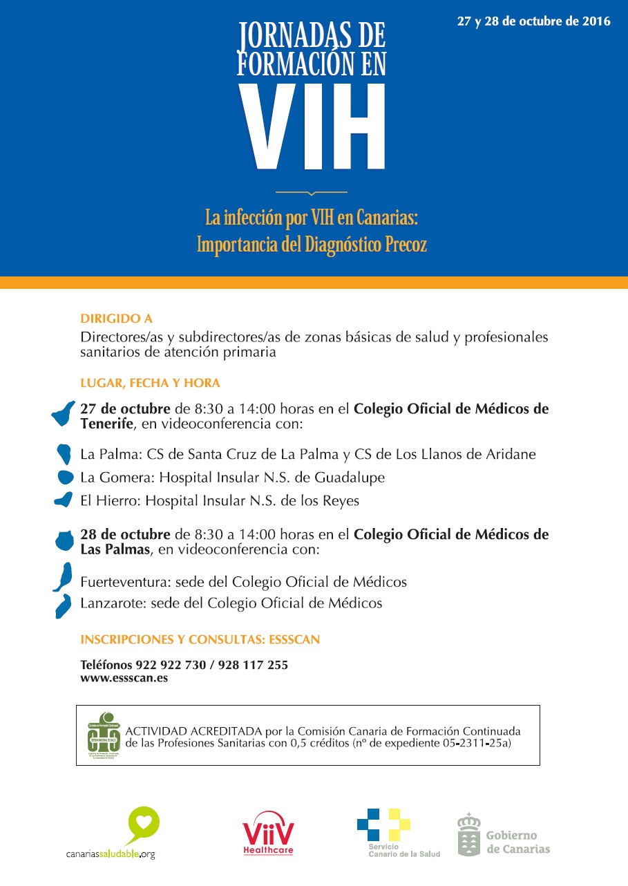 JORNADAS DE FORMACIÓN EN VIH