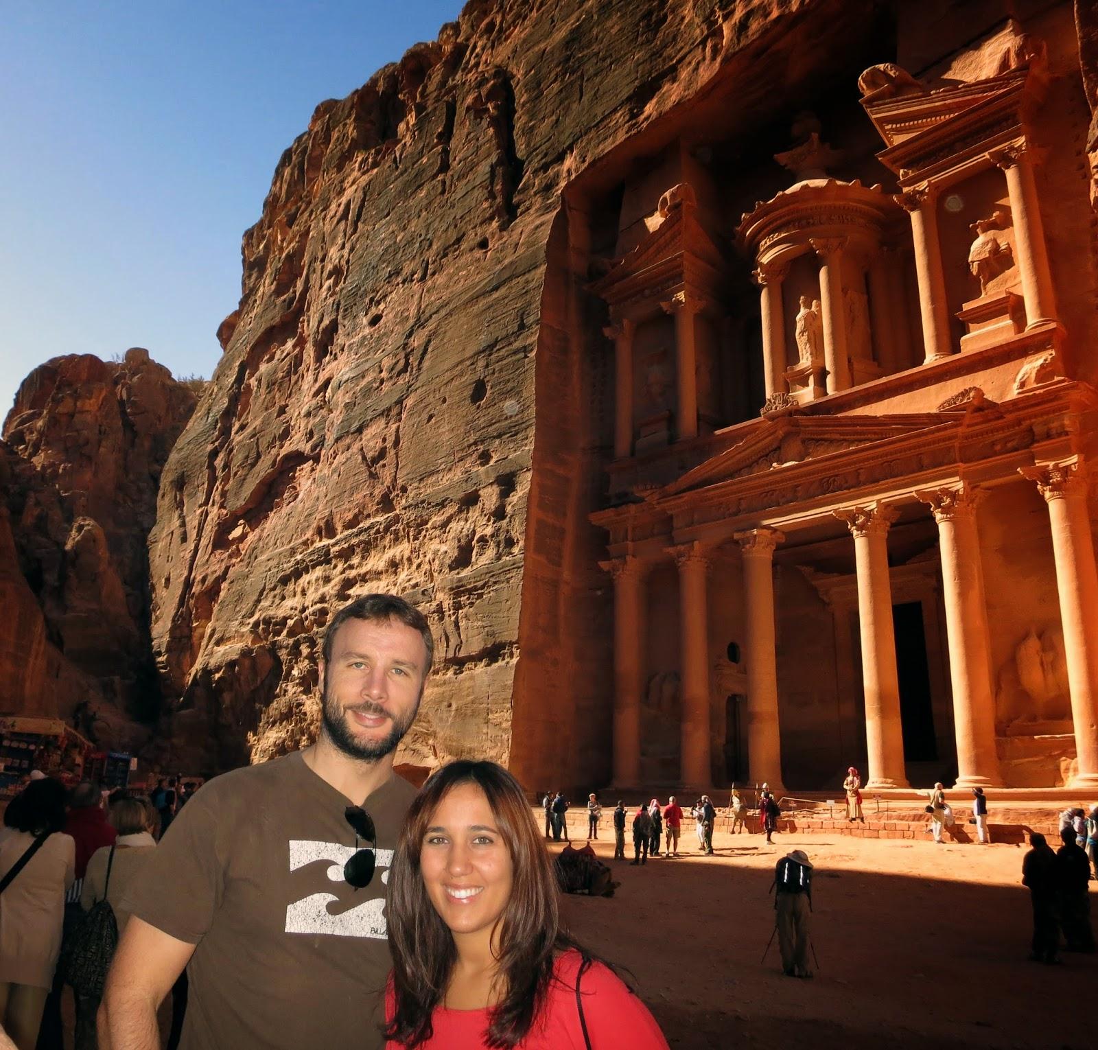 El Gran Tesoro, Petra