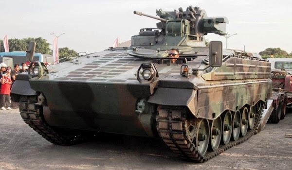 Tank Marder 1A3 TNI-AD. PROKIMAL ONLINE Kotabumi Lampung Utara