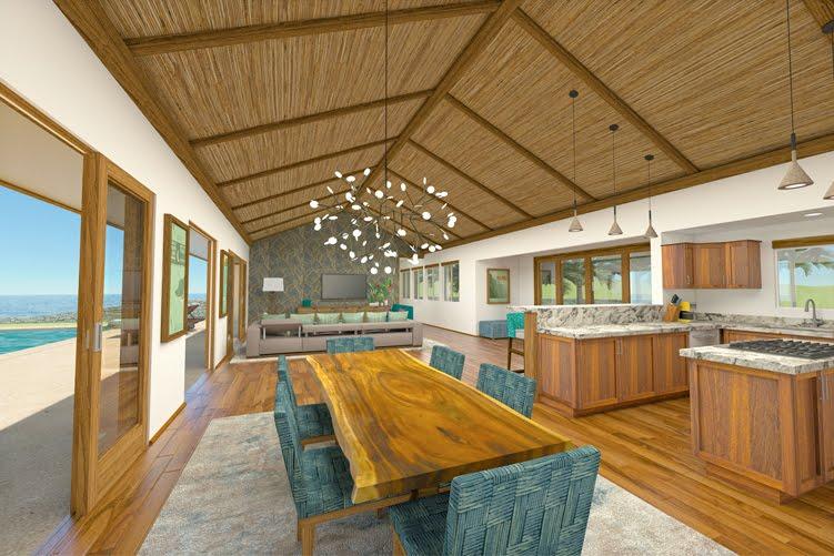 Voit Face Hawaiian interior design