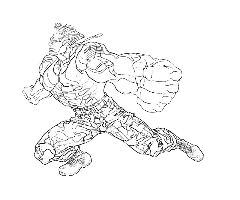 printable-guile-attack-coloring-pages