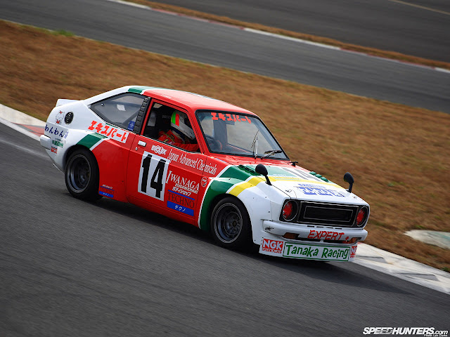 Toyota Publica Starlet, P4, racing, wyścigi