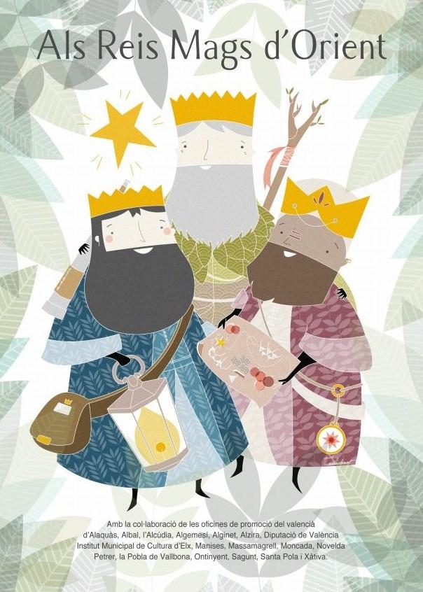 carta als Reis Mags d'Orient