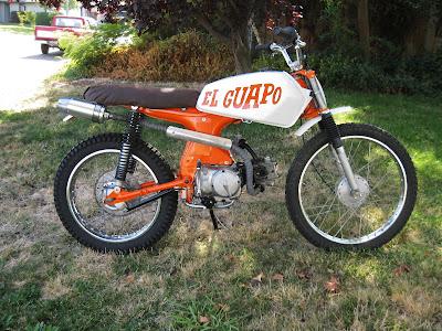 El Guapo - 1965 Honda S/CL90