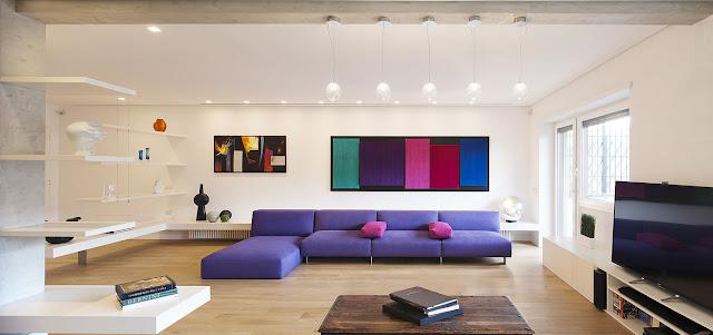 Casa a trastevere by arabella rocca arc art blog by for Spaces architecture studio delhi